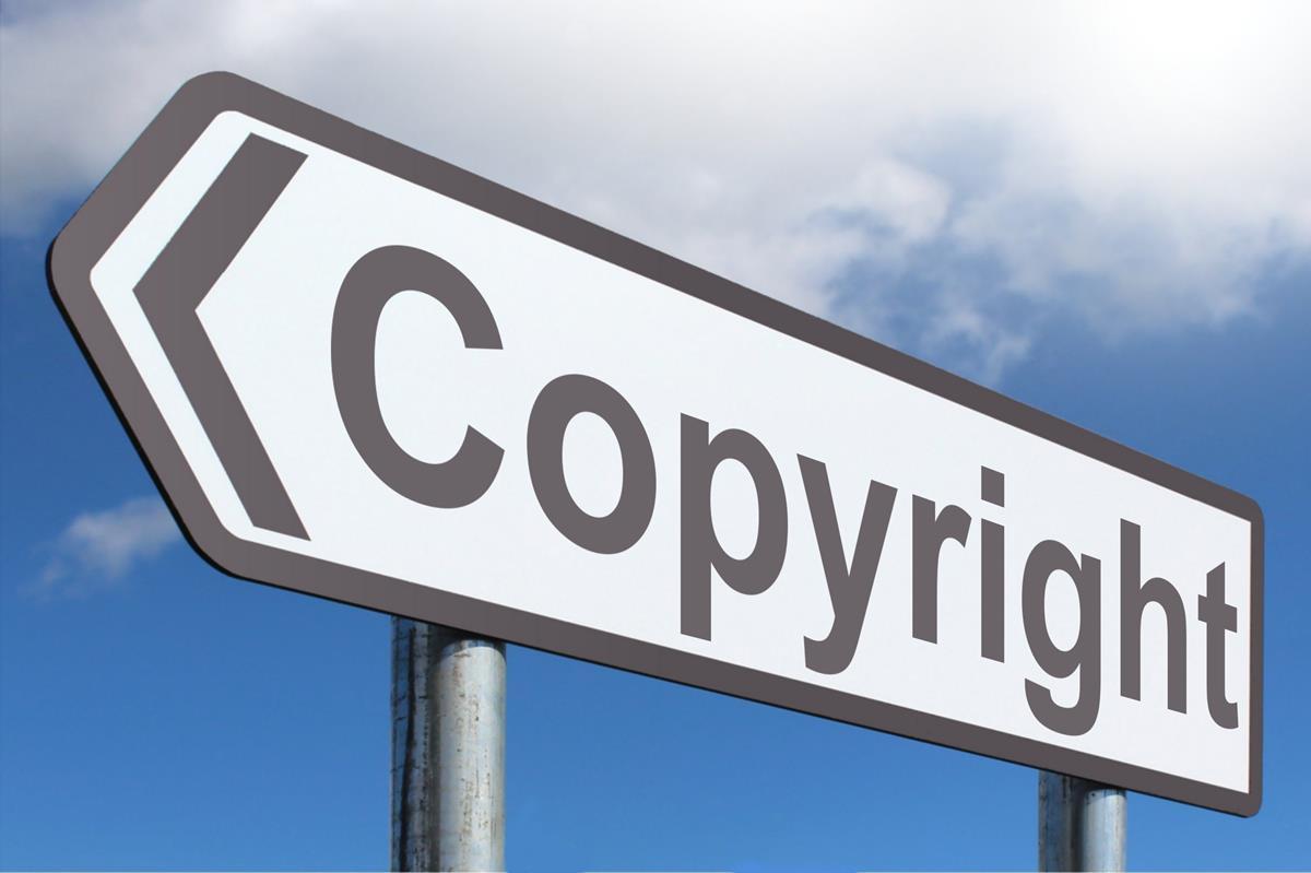 Cartello Copyright