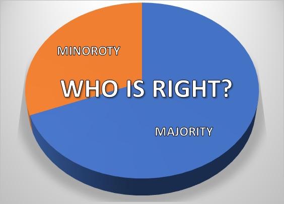 Cake Majority Wrong