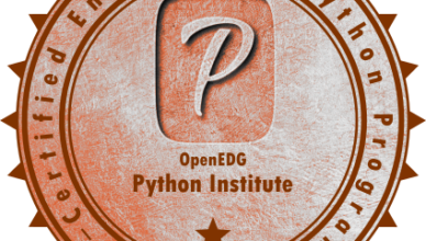 PCEP – Certified Entry-Level Python Programmer Certification.